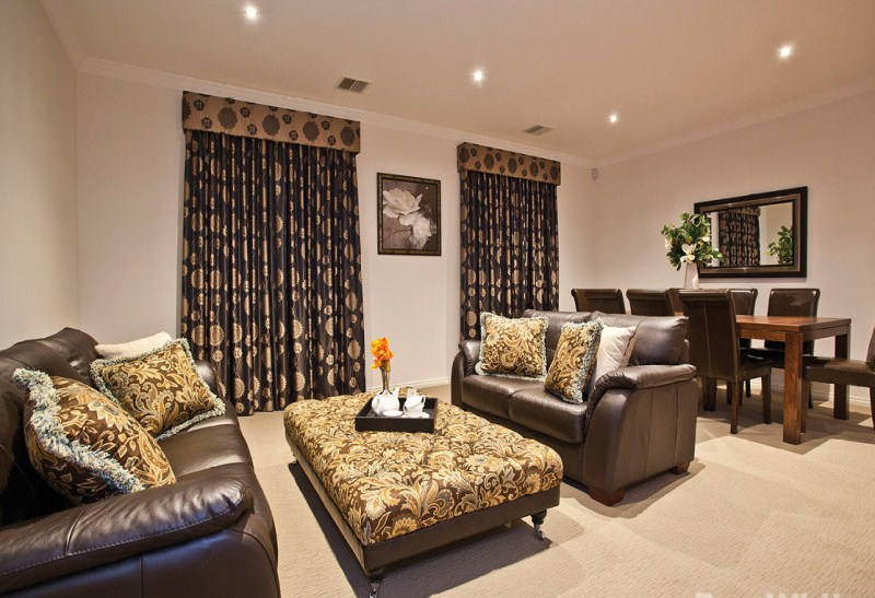 Classic Curtains with Pelmets