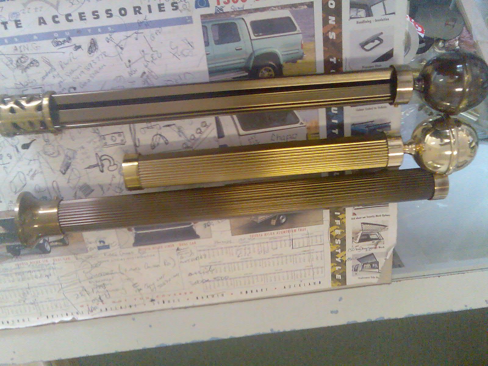 Decorative Rods & Finials