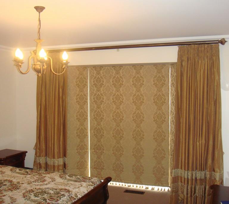 Designer Curtains & Roman Blinds