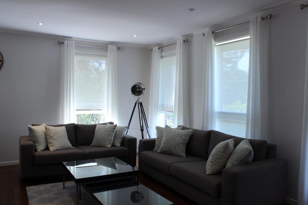 Eyelet Curtains & Sunscreen Blinds