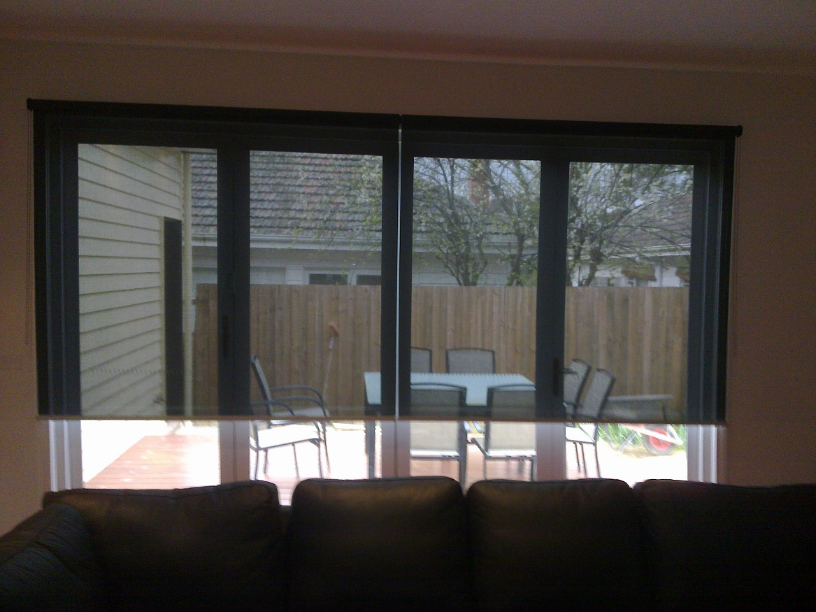 See-Through Screen Blinds