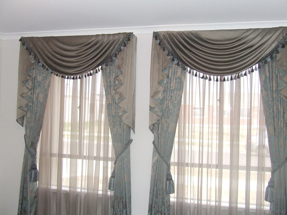 Swags Amp Tails Ariana Curtains