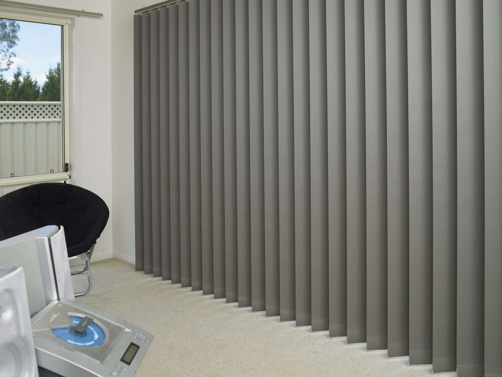 vertical blinds panel gliding ariana curtains. Black Bedroom Furniture Sets. Home Design Ideas